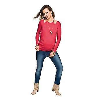 Skinny barsel Jeans - mørkeblå
