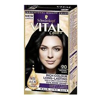 Schwarzkopf Vital Colors 90 Natural Black