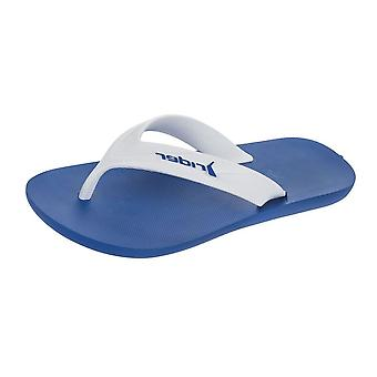 Rider Strike Mens Flip Flops / Sandals - White