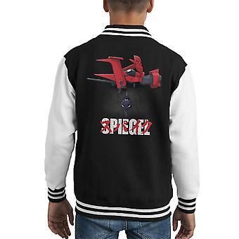 Spiegel Cowboy Bebop Akira Kid's Varsity jakke