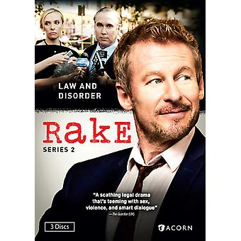 Rake: Series 2 [DVD] USA import
