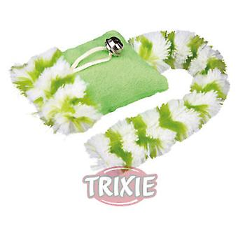 Trixie Playing Plush Cushion with Bell (Cats , Toys , Plush & Feather Toys)