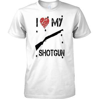 Ich liebe meine Shotgun - Infanterie FIBUA Waffe - Herren-T-Shirt