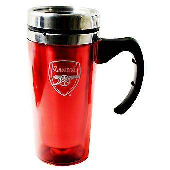 Arsenal FC Official Aluminium Football Travel Mug