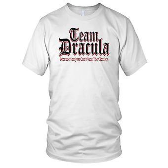 Team Dracula vampyr damer T skjorte
