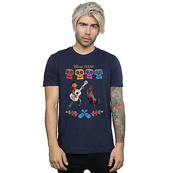 Disney Men's Coco Miguel Logo T-Shirt