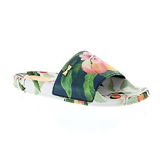 Ted Baker Aveline - Peach Blossom White PU (Floral) Womens Sandals
