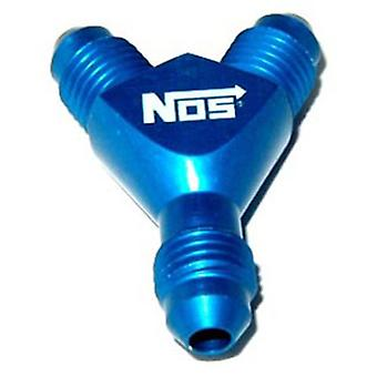 NOS 17830 Blue Anodized -4AN Y-Fitting