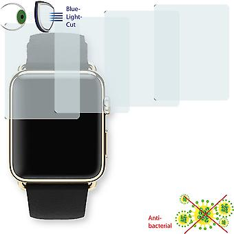 Apple Watch Edition 42mm screen protector - Disagu ClearScreen protector (deliberately smaller than the display, as this is arched)