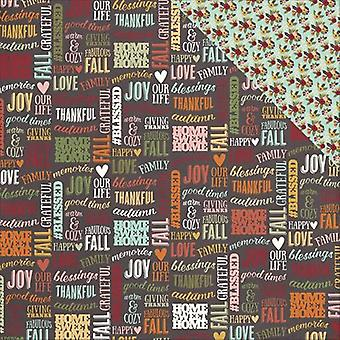 Vintage Blessings Double-Sided Cardstock 12