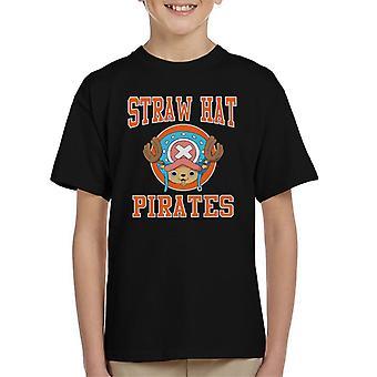 Straw Hat Pirates Tony Tony Chopper One Piece Kid's T-Shirt