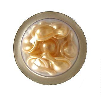 Elizabeth Arden Ceramide Gold Ultra Restorative Capsules Face & Throat Intensive Treatment - 7 Capsules Mini Carded Pack