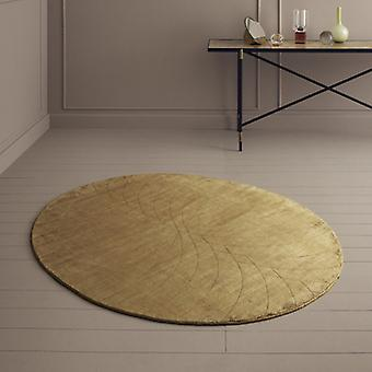 Rugs -Linie Momento Oval Rugs - Mustard