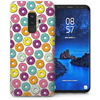 S9 Samsung Галактика плюс пончики гель ТПУ - фиолетовый