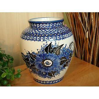 Vase, Höhe 20 cm, Unikat 2, Bunzlauer Keramik - BSN 0252