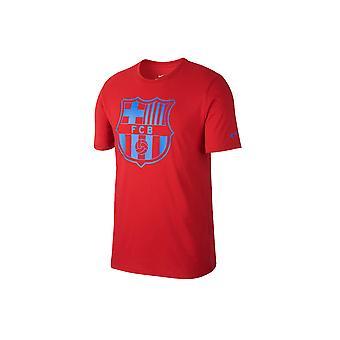 Nike FC Barcelona Crest Tee 832717-687 Mens T-shirt