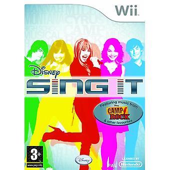 Disney Sing It - jeu seul (Wii)