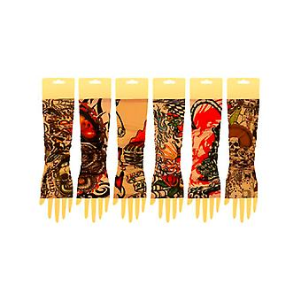 Tatuaggio braccio manica colore Design - coppia