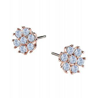 Guess ladies örhängen rostfritt stål Rosé UBE61072