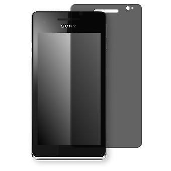 Sony Xperia LT25 display protector - Golebo view protective film protective film