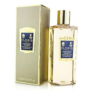 Floris Edwardian Bouquet Moisturising Bath & Shower Gel 250ml/8.5oz