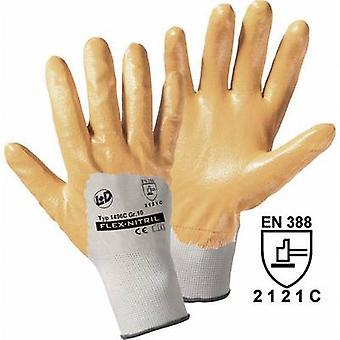 Polyester Protective glove Size (gloves): 10, XL EN 388 CAT II L+D worky Flex-Nitril 1496C 1 pc(s)