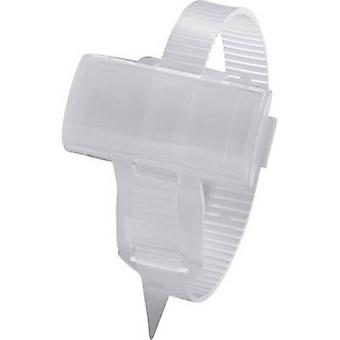 Badge with cable tie Mounting type: Cable tie Writing area: 25 x 10 mm Transparent Phoenix Contact KMK 3 1005211 1 pc(s)