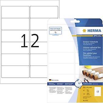 Herma 9533 Labels 99.1 x 42.3 mm PE film White