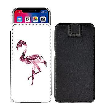 Flamingo Custom entworfen gedruckt ziehen Tab Tasche Telefon Fall decken für Vodafone Smart prime 7 [S] - F11_web