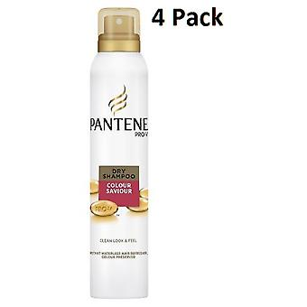 4 x 180ml Pantene Pro V Dry Shampoo - Colour Saviour