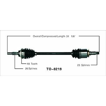 SurTrack TO-8219 CV Axle Shaft