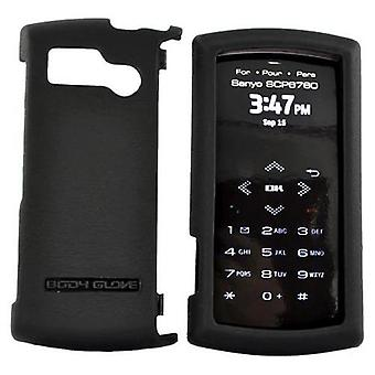 Body Glove Pro Snap-On Case for SCP6760 Sanyo Incognito - Black
