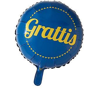 Folieballong Gefeliciteerd