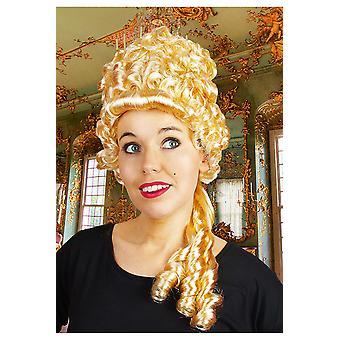 Pelucas de alta peluca Medieval rubia