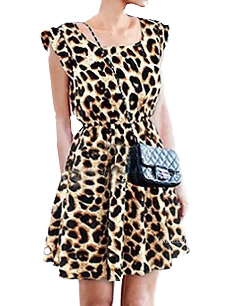 Waooh - leopard dress imitation Ozan
