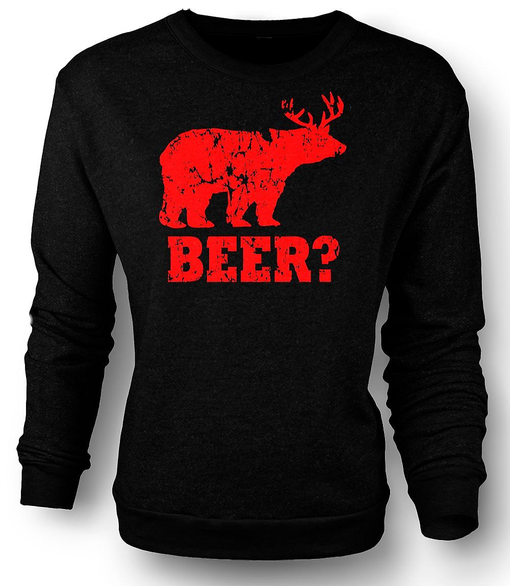 Hombres camiseta cerveza - gracioso