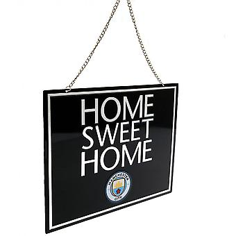 Manchester City FC Official Home Sweet Home segno