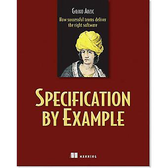 Specification by Example by Gojko Adzic - 9781617290084 Book