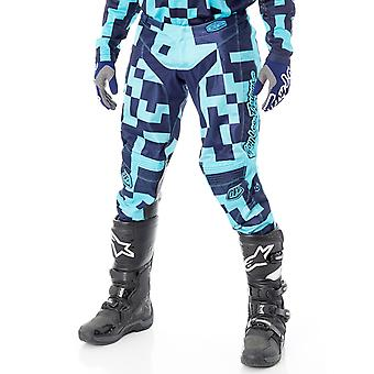Troy Lee Designs Turquoise-Navy 2018 GP Air Maze MX Pant