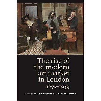 El aumento del mercado del arte moderno en Londres, 1850-1939