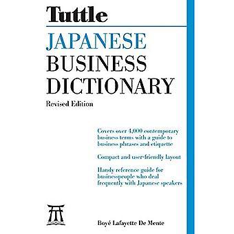 Diccionario de negocios japonés Tuttle