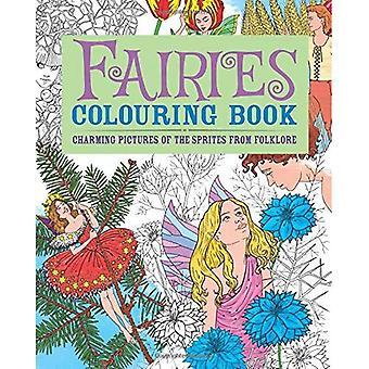 Feen Färbung Buch: Charmante Bilder der Sprites aus der Folklore (Erwachsene Malbücher)