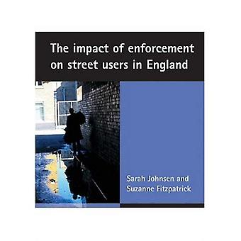 Die Auswirkungen der Durchsetzung auf Straße Benutzer in England