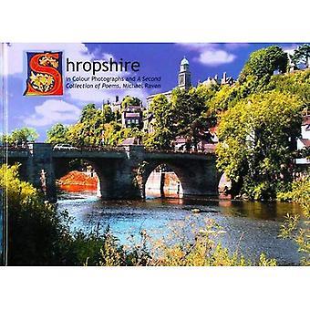 Shropshire in kleur foto's: bevat een tweede verzameling van gedichten door Michael Raven