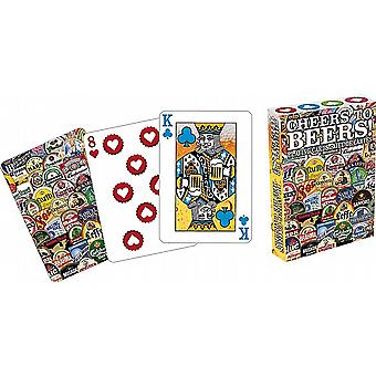 Cheers To Beers set of playing cards    (nm)