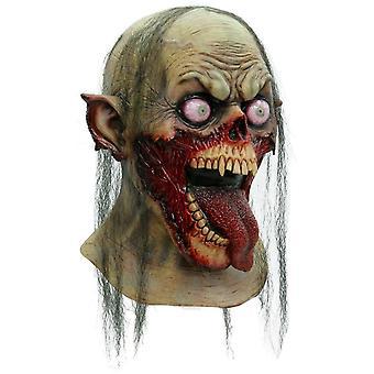 Tongue Slasher Adut Latex Mask For Halloween