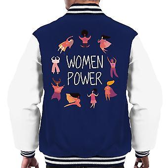 Women Power Men's Varsity Jacket