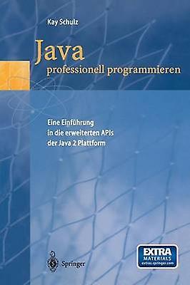 Java Professionell Programmieren Eine Einfuhrung in Die Erweiterten APIs Der Java 2 Plattform by Schulz & Kay