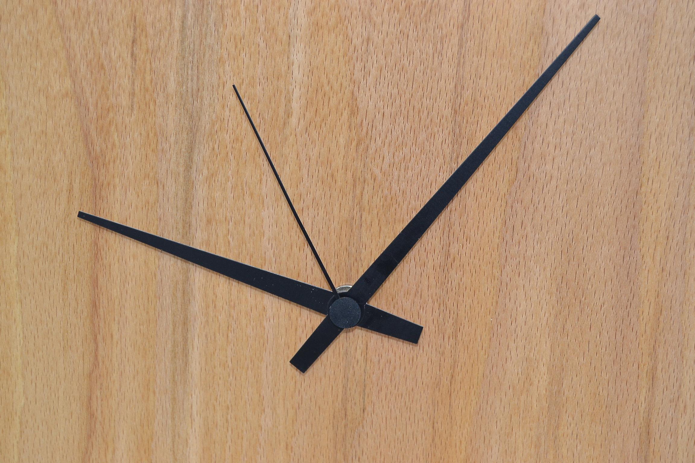 XL Holz Wanduhr Holzuhr Uhr 34 cm Baumscheibe Made in Austria Uhr Buche Junghans Holzuhr Uhr Holzdekoration Holzdeko Deko Geschenk Geschenkidee Unikat handmade Made in Austria