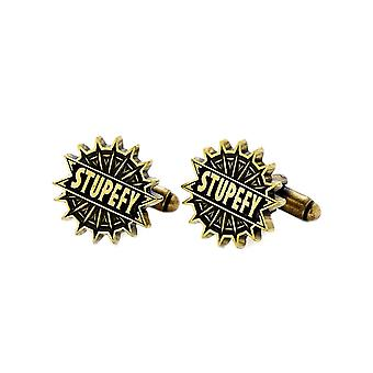 Fantastic Beasts and Where to Find Them Stupefy Cufflinks